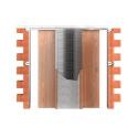 Stavební pouzdro JAP 720 Unibox 800 + 800 mm