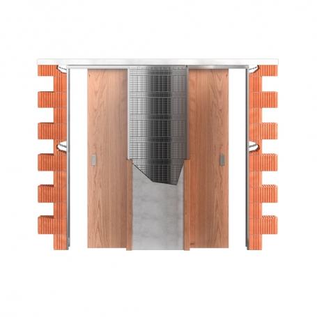 Stavební pouzdro JAP 720 Unibox 1000 + 1000 mm SDK